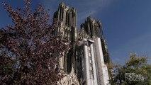 Cathédrale de Reims. Restauration de la grande rose. Episode 2 « La restauration de la statuaire »