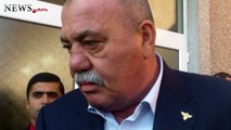Armenian General answers journalists' quastions at Veterans Volunteer Union