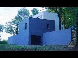 Maison moderne contemporaine dans le Sud de la France
