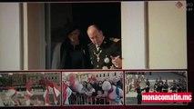 Fête Nationale  à Monaco : Albert et Charlene au balcon