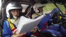 A bord de la Peugeot 307 WRC de Paul Chieusse