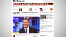 Celebrity Chef, Gordon Ramsay Says Rival Sabotaged Restaurant Opening