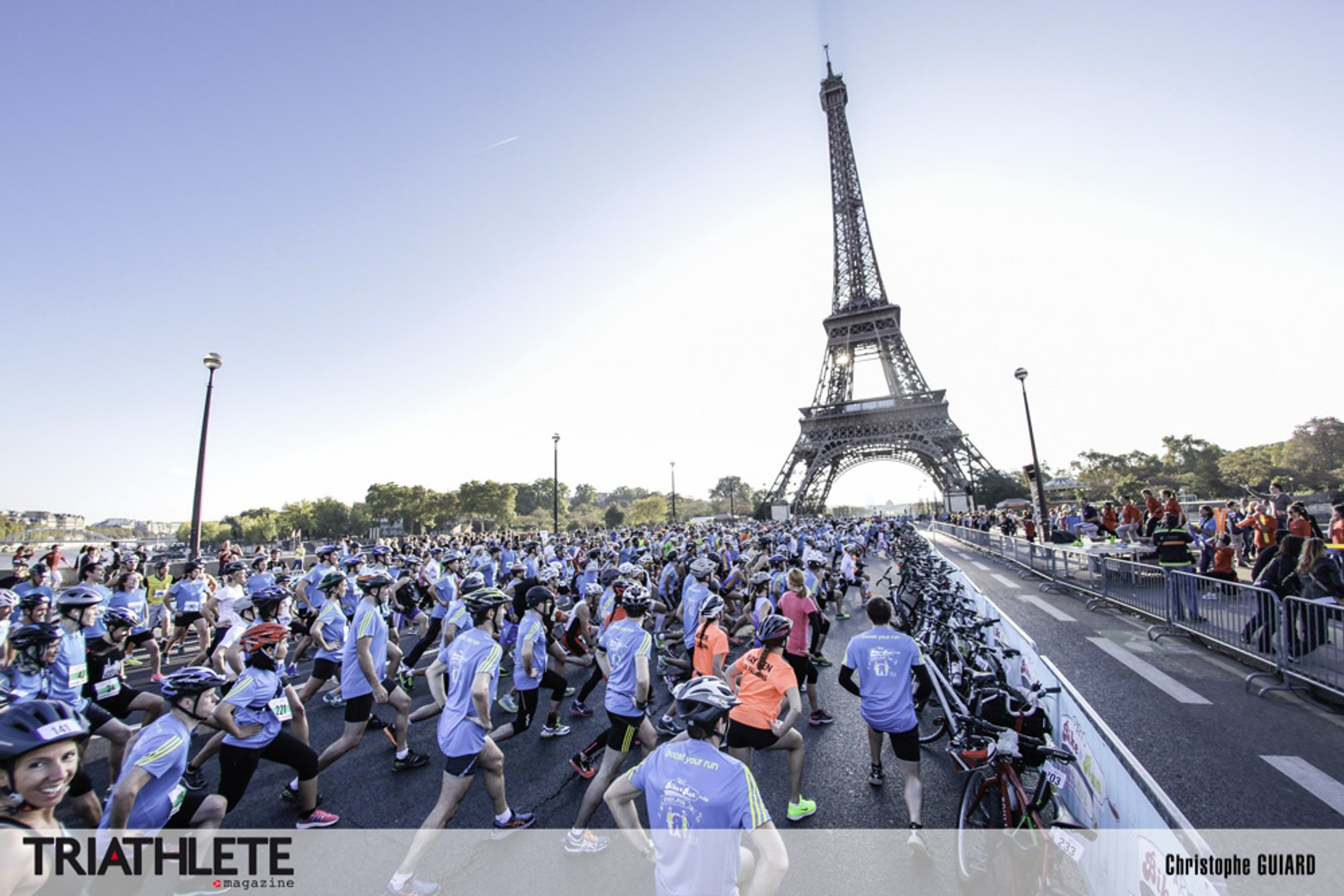 Paris Bike & Run 2014
