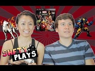 SHFTY Plays Marvel vs Capcom 3 with Brandon Calvillo