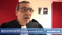 Le Bâtonnier de Toulon explique la grève des avocats