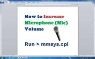 How to Increase Microphone Volume and Speaker Volume in Urdu