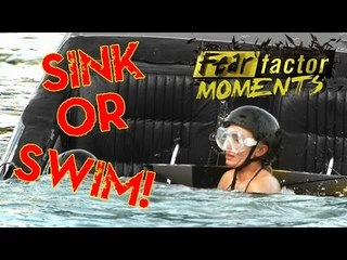 Fear Factor Moments | Sink or Swim