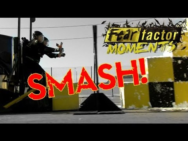 Fear Factor Moments | Cement Mixer Smash