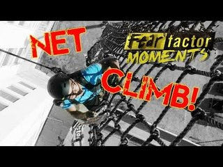 Fear Factor Moments | Cargo Net Catapult