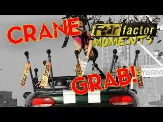 Fear Factor Moments | Crane & Car Flag Snag