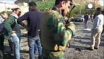 انفجار بمب در شهر اربیل دست کم ۵ کشته بجا گذا