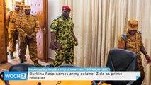 Burkina Faso Names Army Colonel Zida as Prime Minister