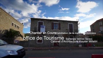 Chantier pour l'office du Tourisme du Sartenais Valinco Taravo Nov 2014