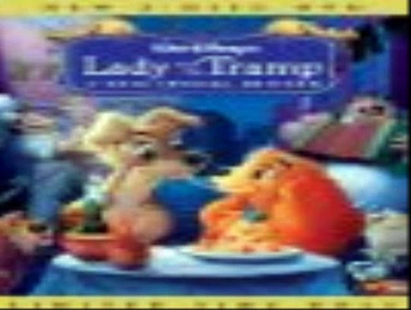 Lady And The Tramp 1955 Original Full Movie Hd Quality Video Dailymotion