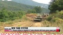 S. Korean military to dispatch fully Korean-made K-2 tanks