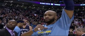 The Toronto Raptors' tribute to Vince Carter brought him to tears