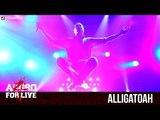 ALLIGATOAH - TRAUERFEIER LIED - AGGRO 4 LIVE (OFFICIAL HD VERSION AGGROTV)