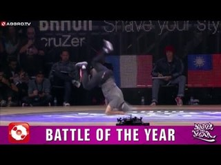 BATTLE OF THE YEAR 2011 - 10 - VAGABONDS VS TPEC- SEMI FINAL #2 (OFFICIAL HD VERSION AGGROTV)