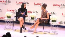 Behind the Scenes - Lucky FABB: Eva Mendes and Eva Chen
