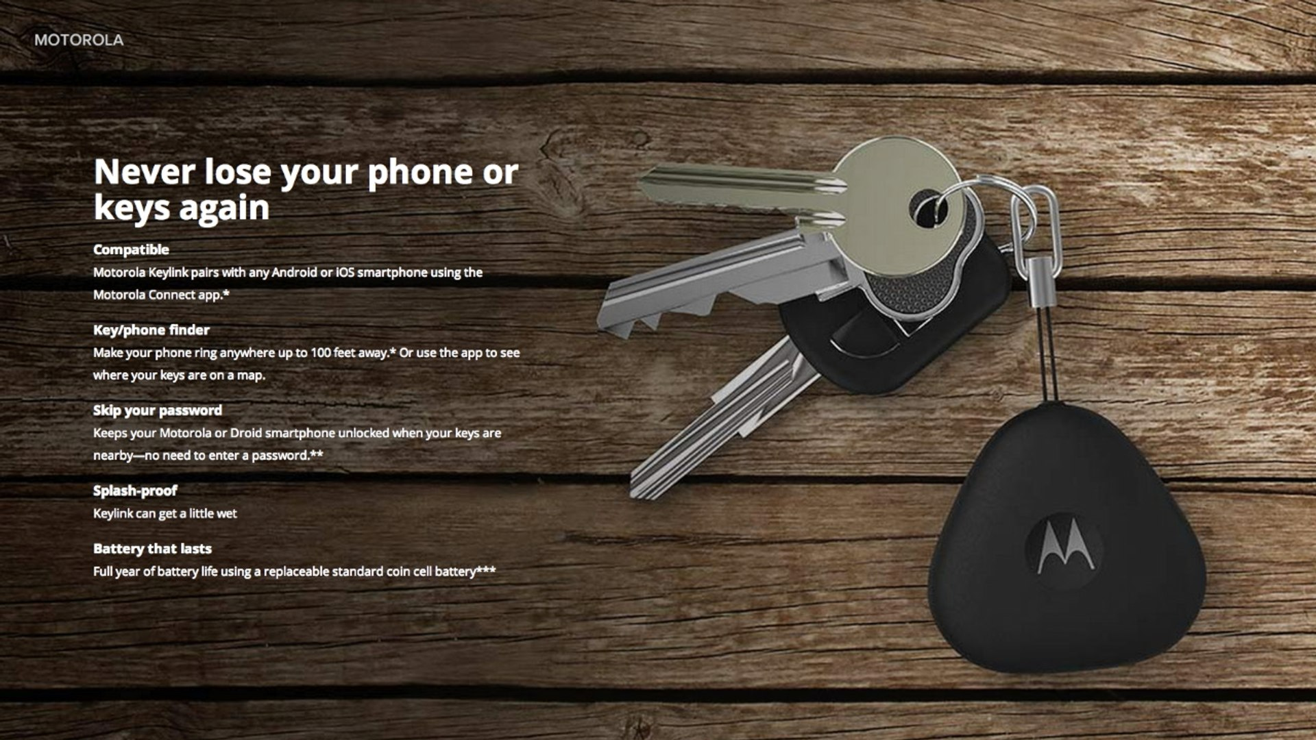 Motorola Keylink Will Help You Find Your Keys And Your Phone Video Dailymotion