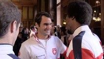 Coupe Davis 2014 : au tirage au sort avec la Team France Tennis