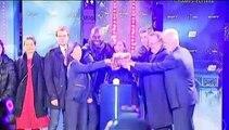 Omar Sy lance les illuminations de Noël sur les Champs-Elysées