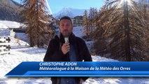 Hautes-Alpes : Christophe Adon - Météorologue à la maison de la Météo, nous fait découvrir le métier de dammeur de pistes aux Orres