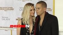 Ashlee Simpson & Evan Ross The Hunger Games Mockingjay Part 1 Los Angeles Premiere
