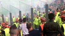 AS ROMA - Cska Mosca 5-1 Incidenti stadio Hooligans riots HD