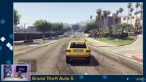 Grand Theft Auto 5 - Replay Web TV #2 - Balade libre et grand n'importe quoi en vue FPS