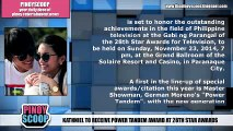 KathNiel Will Receive Power Tandem Award At The 28th Star Awards For Television