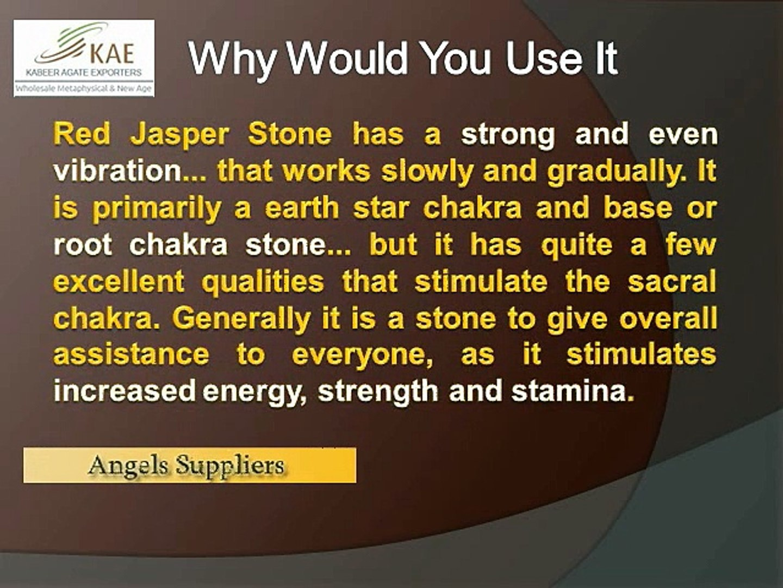 Red Jasper Healing Stone Meaning