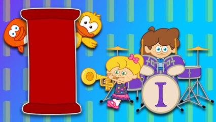 I Harfi - ABC Alfabe SEVİMLİ DOSTLAR Eğitici Çocuk Şarkıları (Türkçe Çizgi Film - Klip)