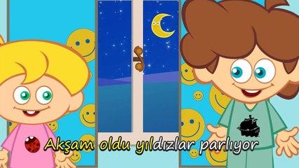 YILDIZLAR PARLIYOR - Çizgi Film Çocuk Şarkısı - Sevimli Dostlar - Adisebaba