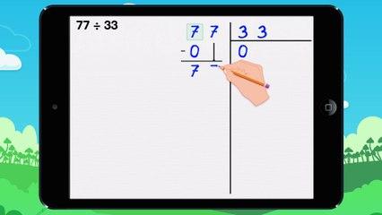 Poser une division décimale - Vidéo 17