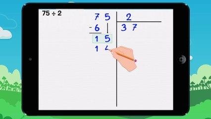 Poser une division décimale - Vidéo 1