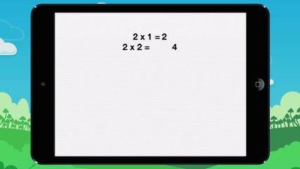 Tables de multiplication - Vidéo 2