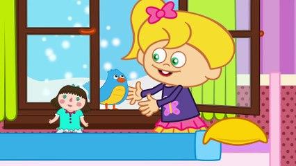 Mini Mini Bir Kuş Çocuk Şarkısı - Sevimli Dostlar - Adisebaba