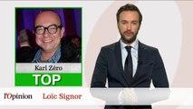 Le Top Flop: Comment Karl Zéro a évité l'affaire Bygmalion / Bernadette Chirac snobe Alain Juppé