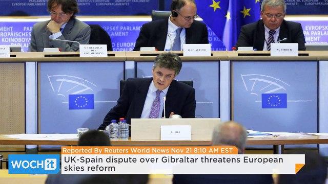 UK-Spain Dispute Over Gibraltar Threatens European Skies Reform