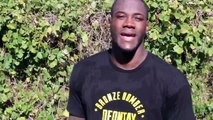 Deontay Wilder fights a fan for getting 5,000 Likes on FB