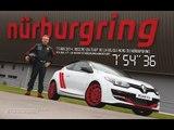 RECORD - Renault Mégane R.S. 275 Trophy R - full lap @ Nürburgring !