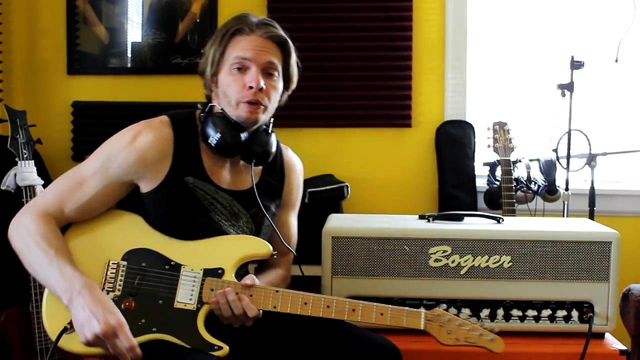 Recording Electric Guitar Parts