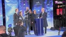 Exclu Vidéo : Des étoiles pleins les yeux, Omar Sy illumine les Champs-Elysées !