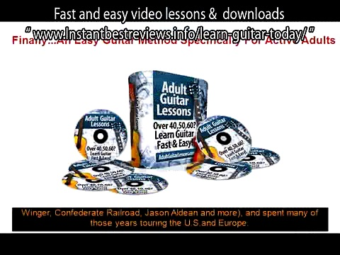 how to learn guitar scales for beginners   Adult Guitar Lessons Fast and easy video lessons