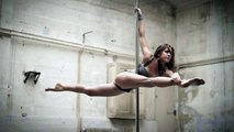 Woman Shows Off Her Insane, Gravity-Defying Pole Dancing Moves