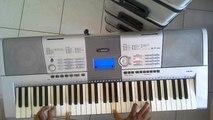 Piano cover improvise Medley of Skyrim & Gangnam style