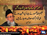 Dunya News - Munawwar Hassan's statements have caused controversies in past as well