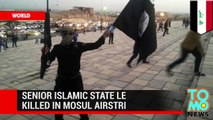 Crisis in Iraq - Senior ISIS leader Radwan Taleb al-Hamdouni killed in Mosul airstrike.