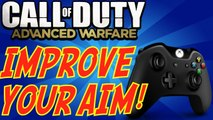 Call of Duty: Advanced Warfare - Improve YOUR Aim! (Call of Duty HOW TO IMPROVE Tips & Tricks)